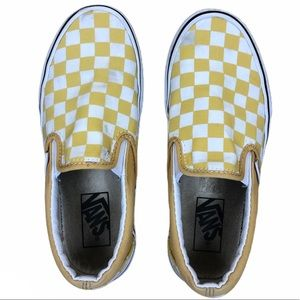 Vans Checkered Low Top Tennis Shoes